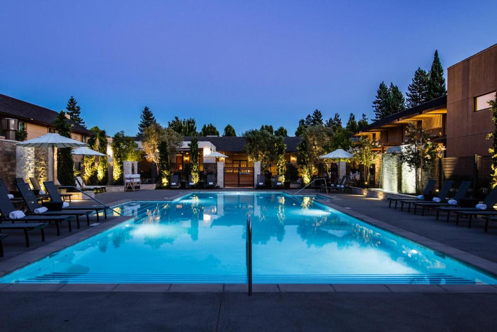 The swimming pool at or near Marriott Napa Valley Hotel & Spa