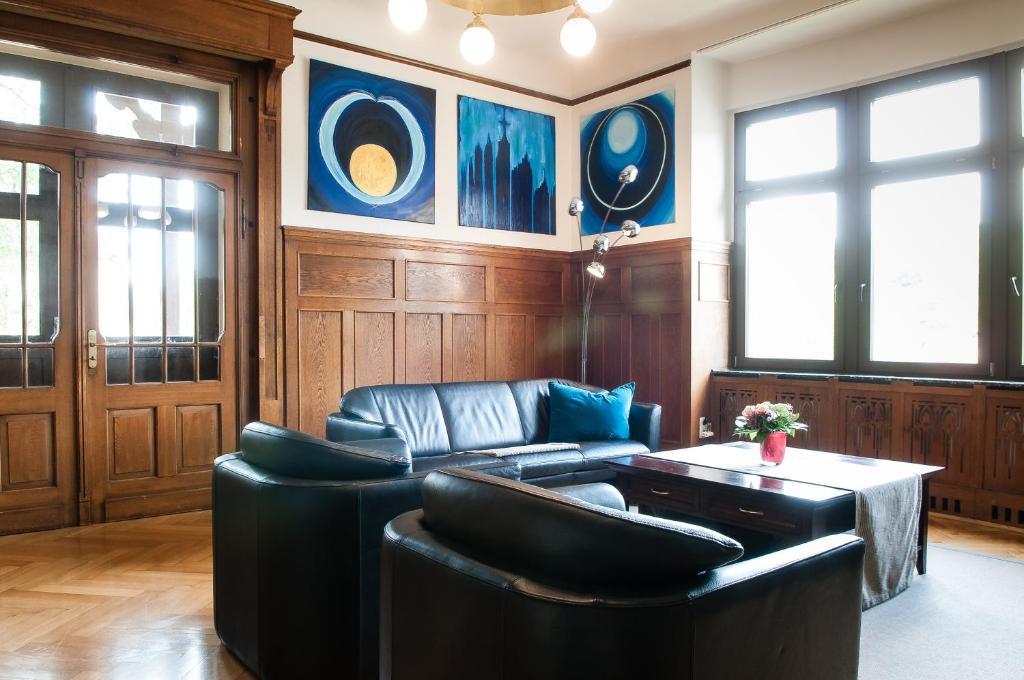 Lounge oder Bar in der Unterkunft Beletage (Villa)
