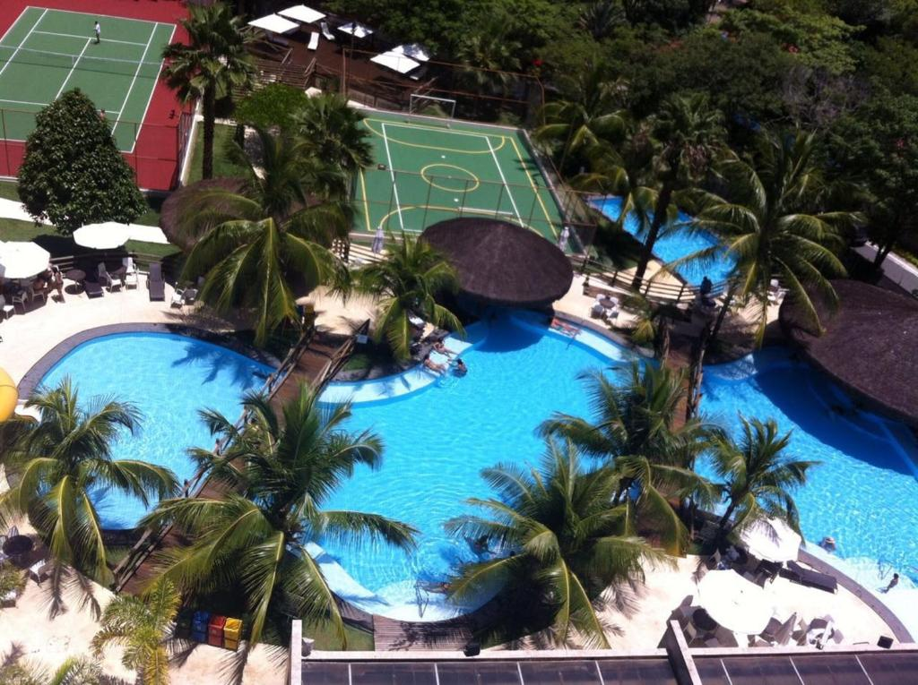 A view of the pool at Suites Le Jardin - Caldas Novas or nearby