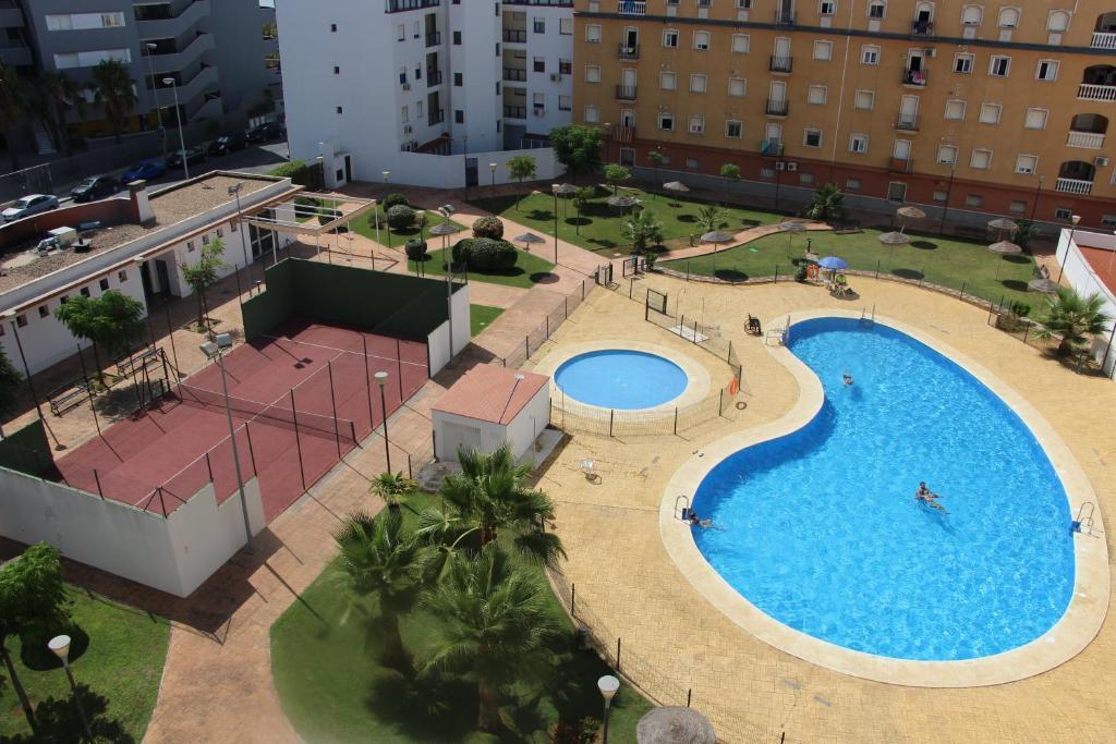 A bird's-eye view of Apartamento en Isla Cristina Puerto Deportivo
