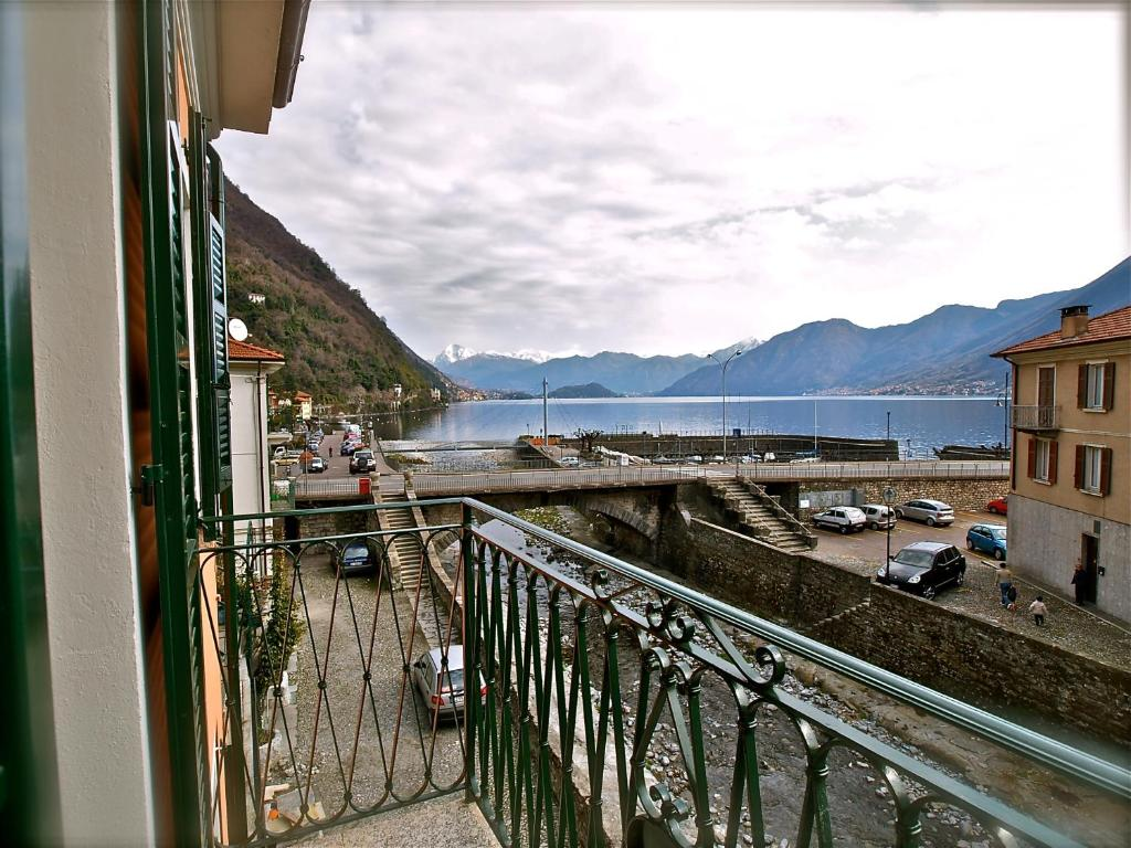 A balcony or terrace at Locanda Posta
