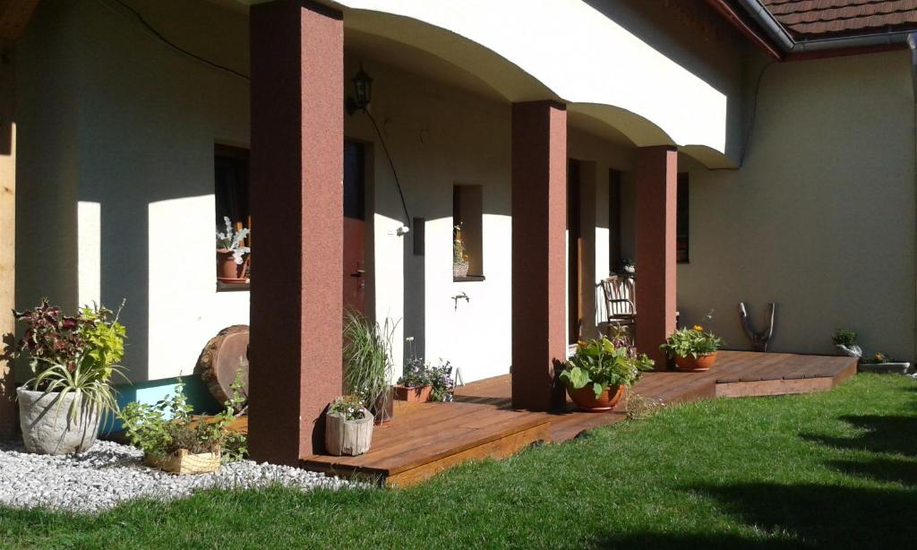 Zahrada ubytování Apartmány MarAqua