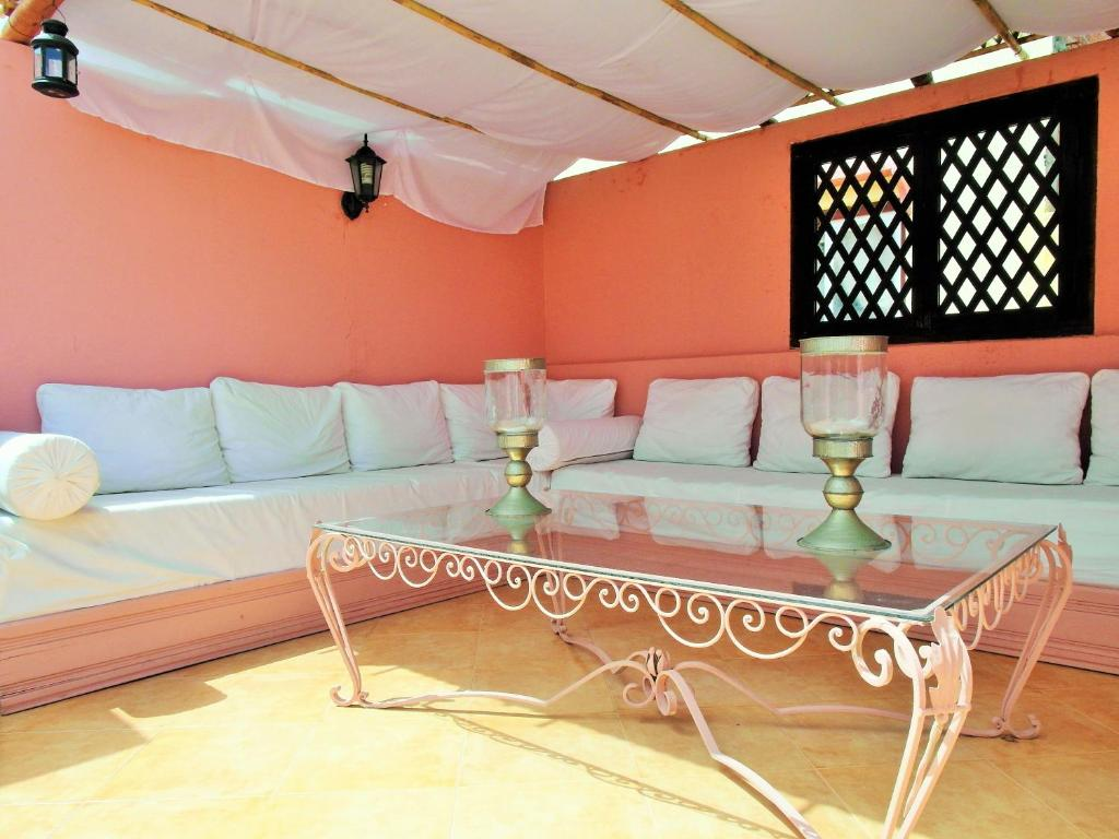 A seating area at Christina's House