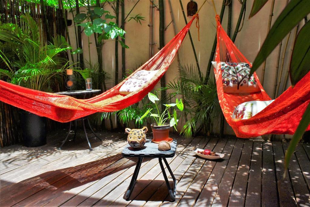 Гостиная зона в Maya Vacanze Playa Natural