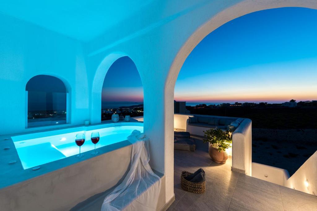 The swimming pool at or near Blanca Luxury Villa