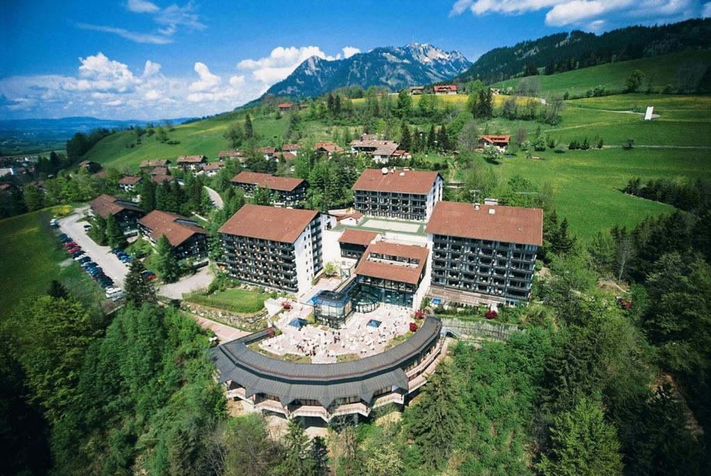 A bird's-eye view of Allgäu Stern Hotel