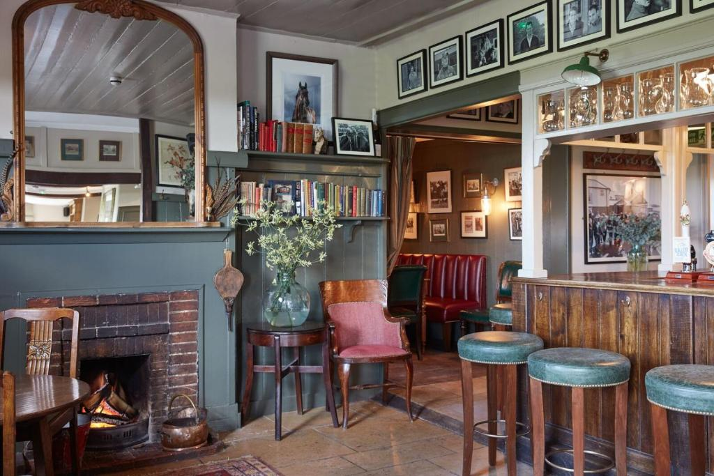 A restaurant or other place to eat at The Pheasant Inn
