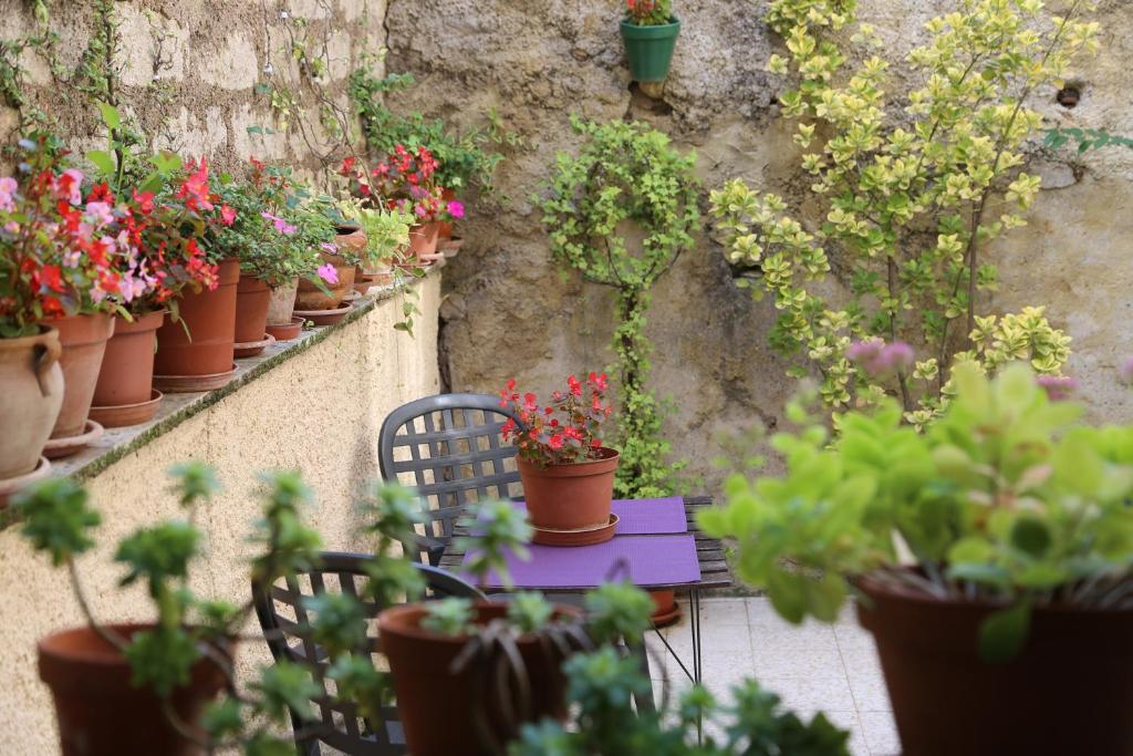 A porch or other outdoor area at Moliere