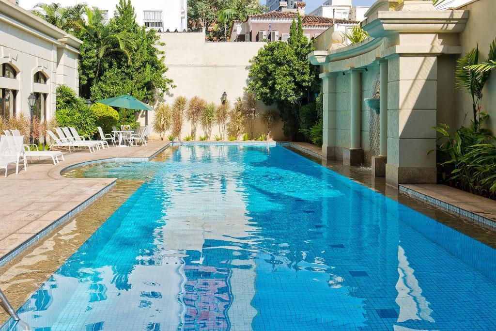 The swimming pool at or near Meliá Campinas