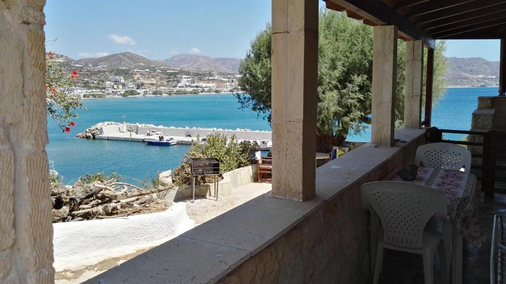 Un balcon sau o terasă la Villa Dimitra