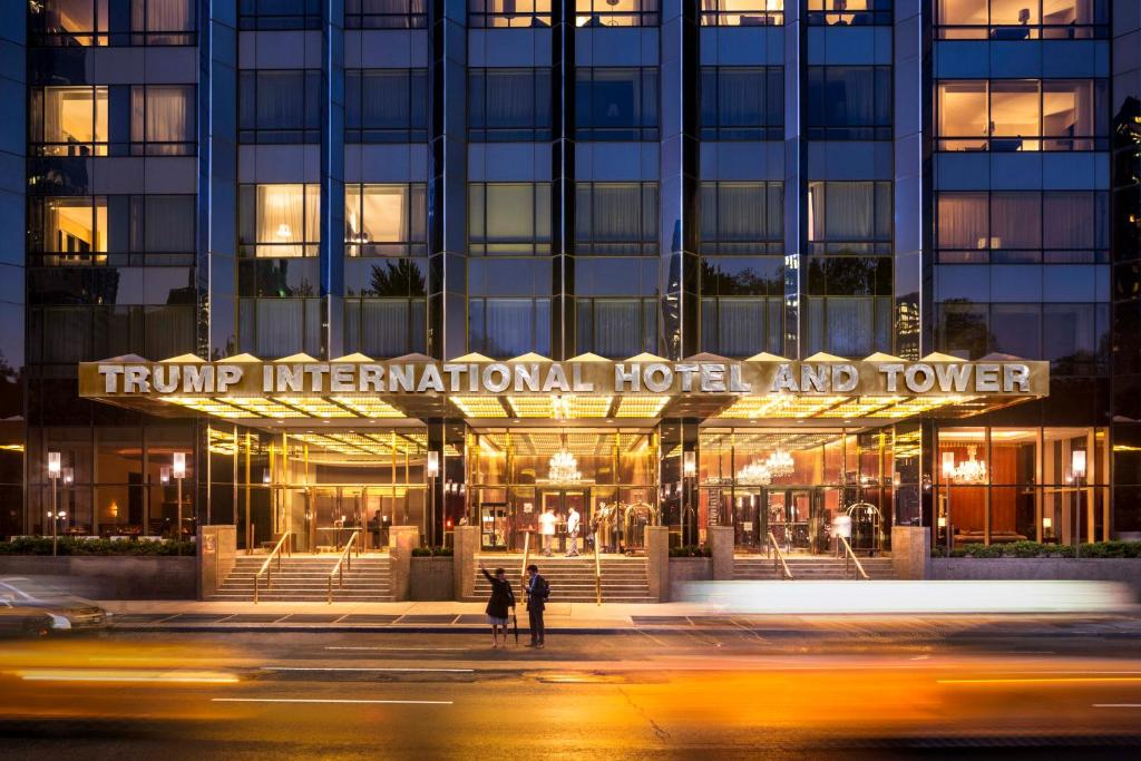 The facade or entrance of Trump International New York