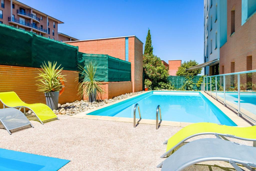 Aparthotel Adagio Access Toulouse Jolimont - Laterooms