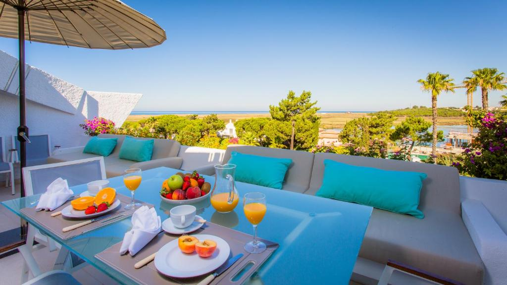 A balcony or terrace at Quinta do Lago Country Club