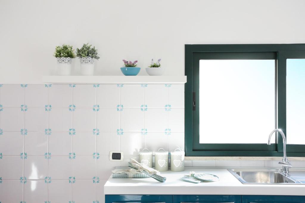 A bathroom at Il Giardinetto