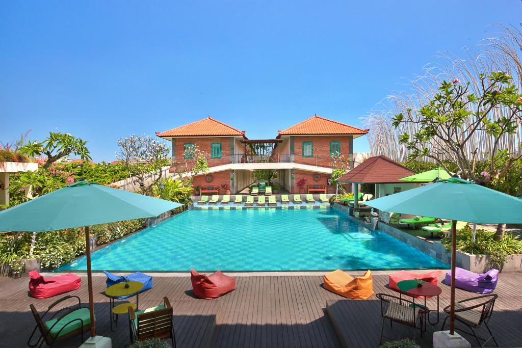 The swimming pool at or near Maison at C Boutique Hotel & Spa Seminyak