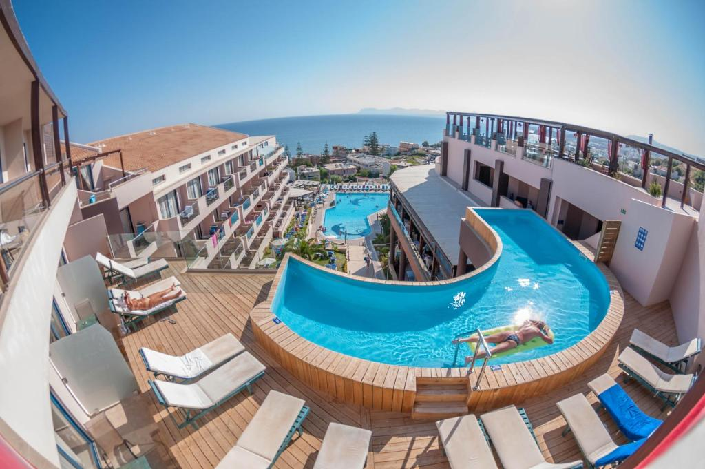 The swimming pool at or near CHC Galini Sea View- Adults Only