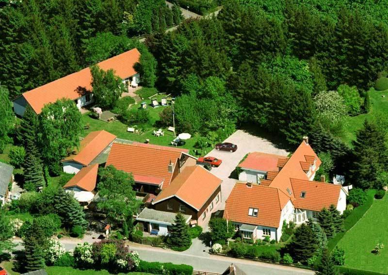 A bird's-eye view of Gästehaus Luv und Lee