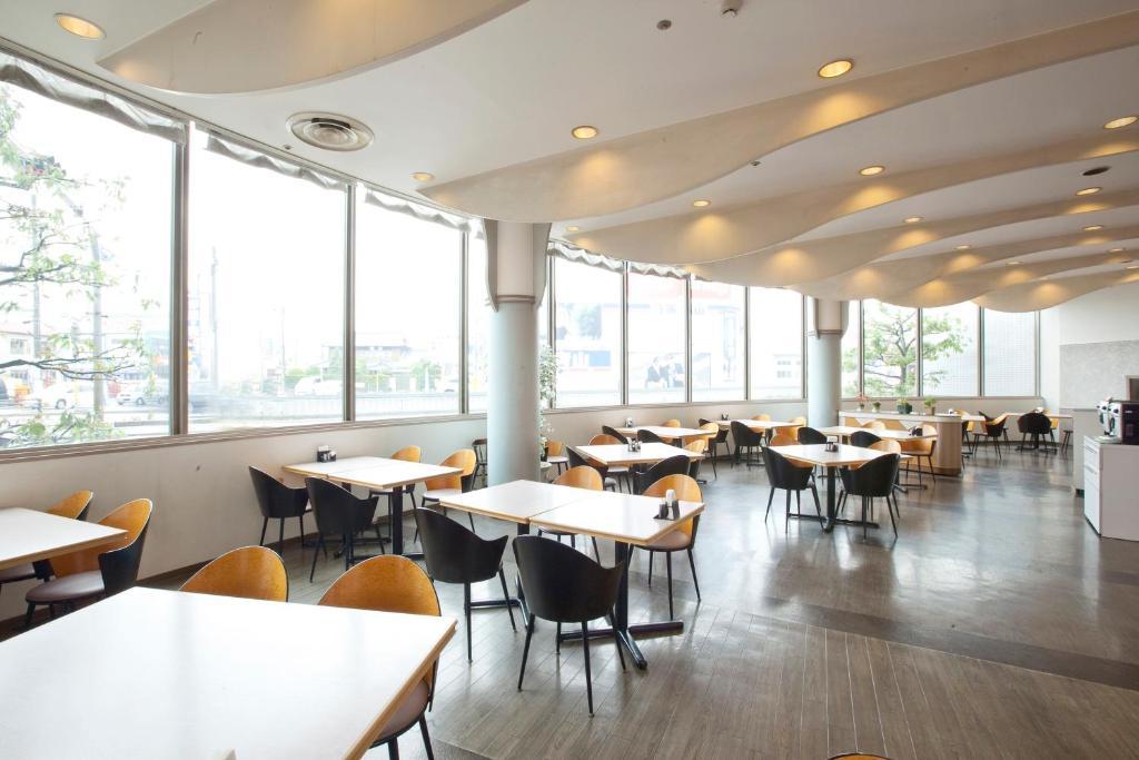 Restaurant ou autre lieu de restauration dans l'établissement Oustat Kokusai Hotel Tajimi
