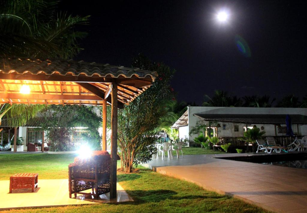 A porch or other outdoor area at Eco Resort Recanto da Natureza