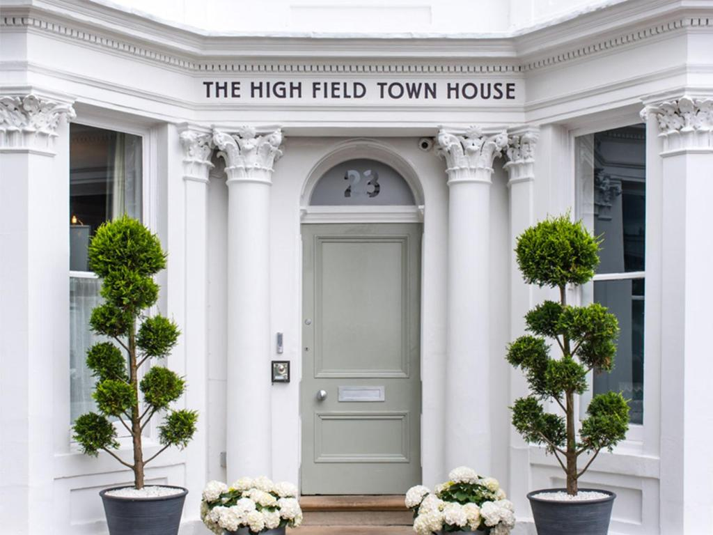 The facade or entrance of The High Field Town House