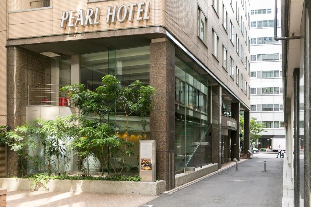 The facade or entrance of Pearl Hotel Yaesu