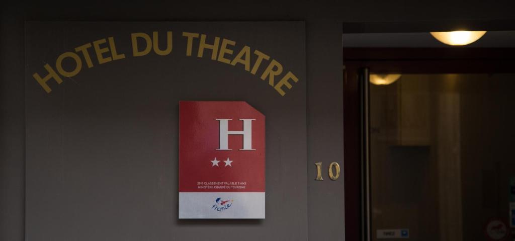Façade ou entrée de l'établissement Hotel du Théatre