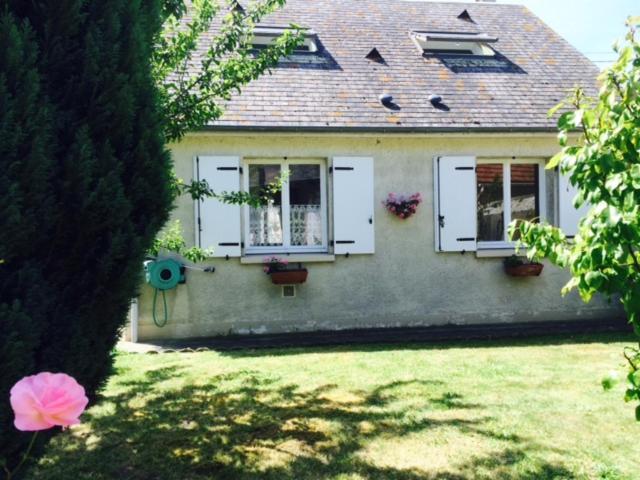 A garden outside Le Clos Surcouf