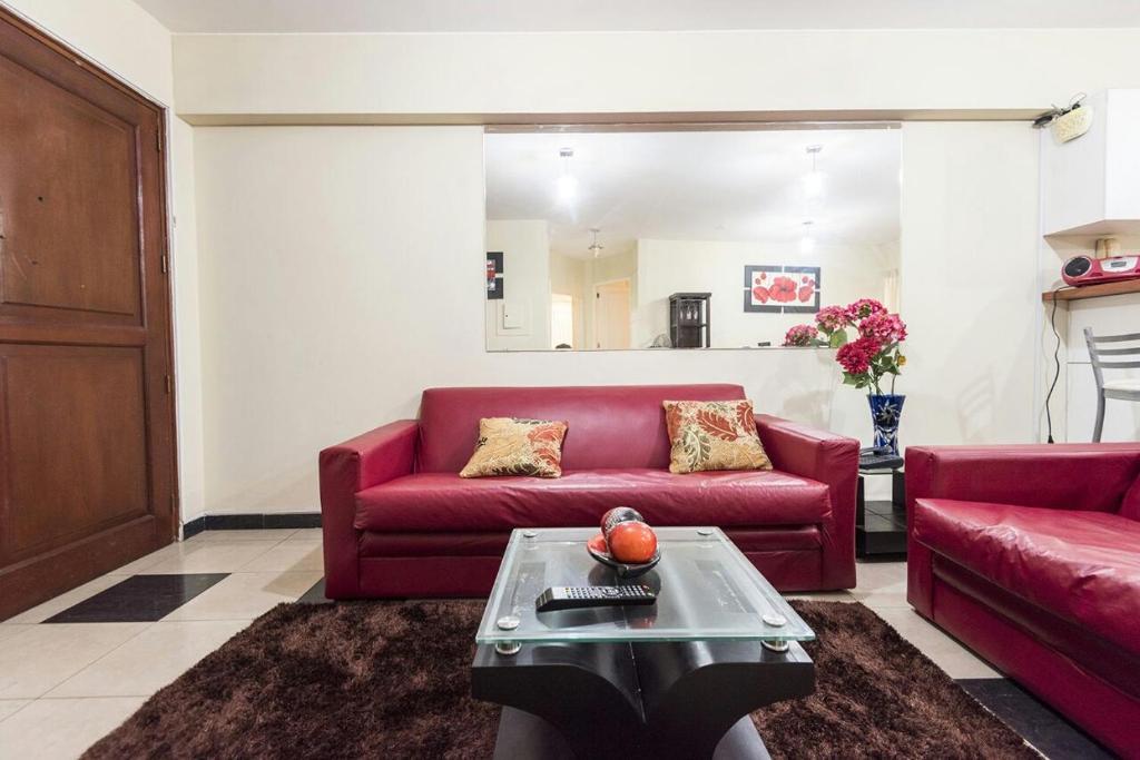 The lounge or bar area at Apartamento Edificio Pardo Cinco
