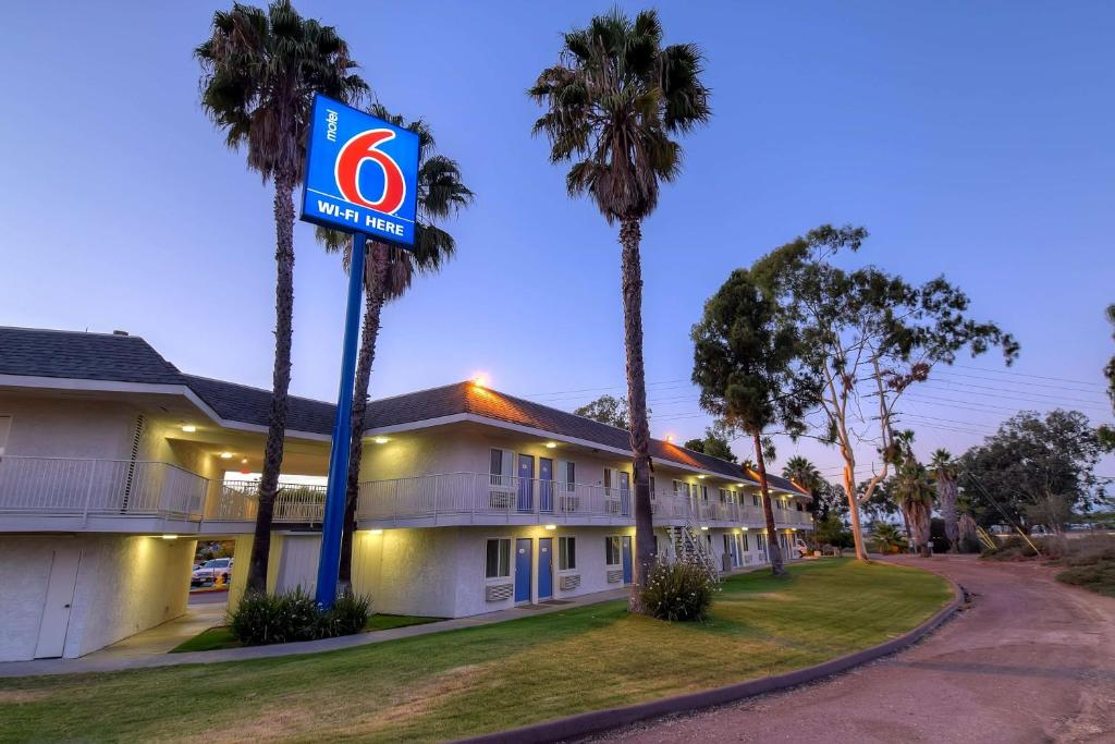 A garden outside Motel 6-San Diego, CA - North