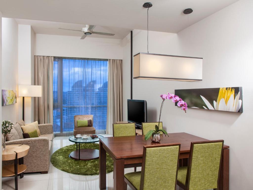 Zona de estar de Somerset Kuala Lumpur