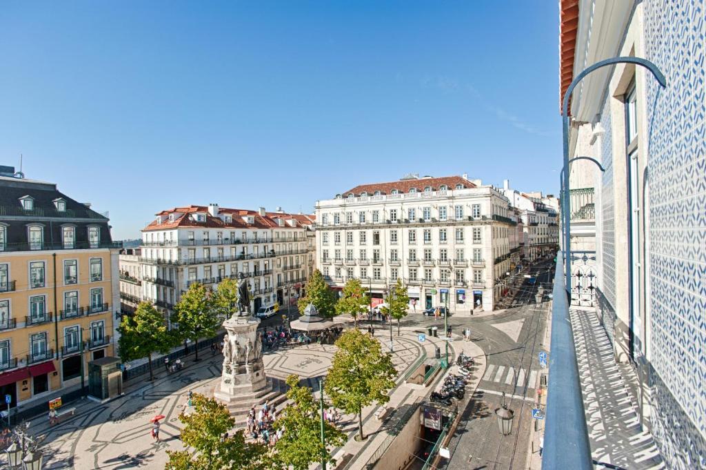 A balcony or terrace at Chiado Camões Apartments | Lisbon Best Apartments