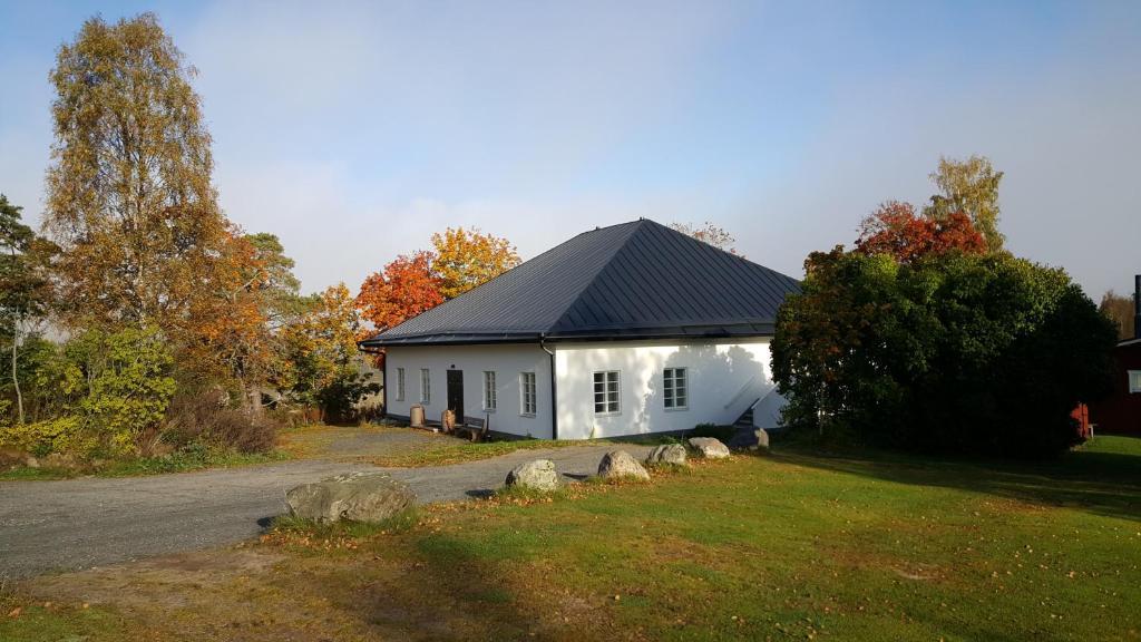A garden outside Bjärkas Golf & Country Club