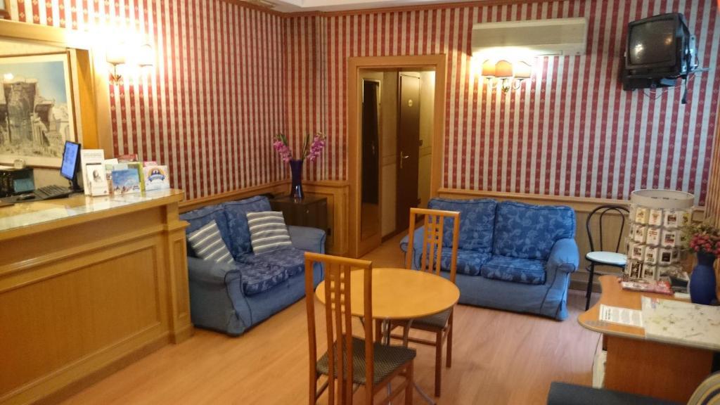 Area soggiorno di Hotel Urbis