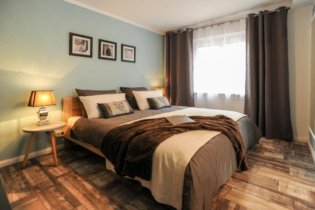 Ein Zimmer in der Unterkunft Ferienhaus Reuter