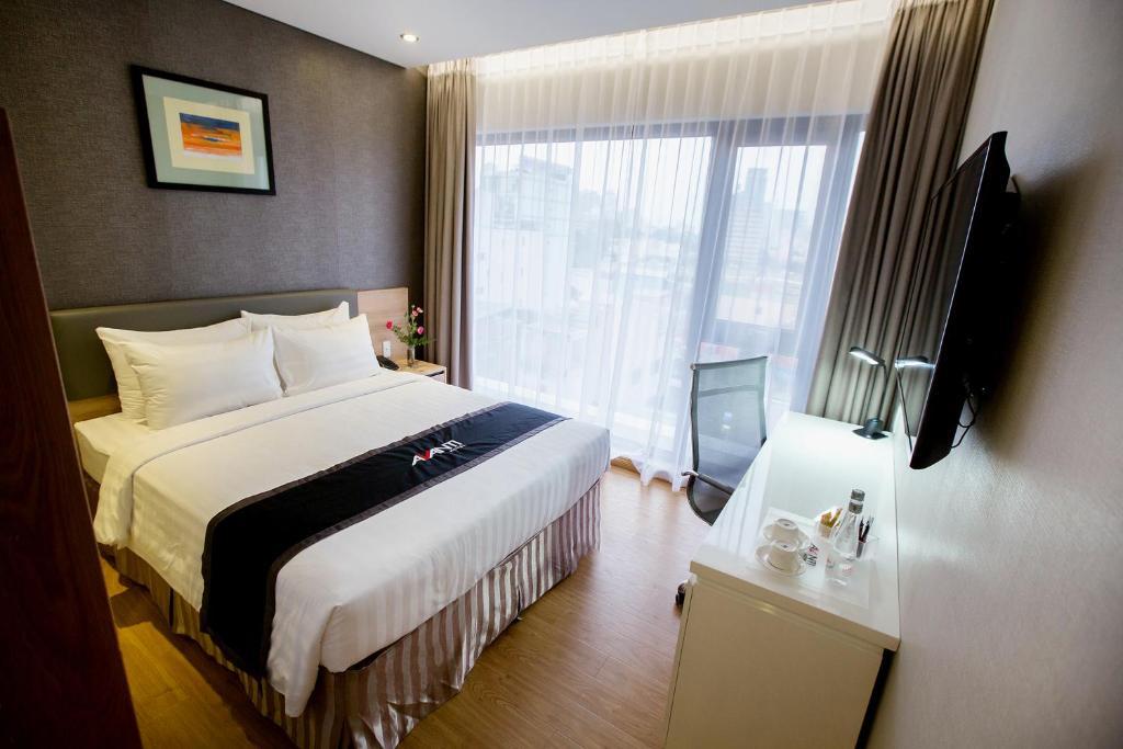 A room at Avanti Hotel