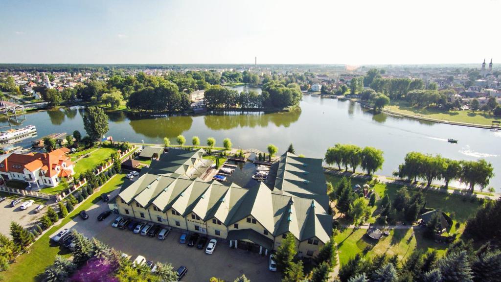 Widok z lotu ptaka na obiekt Hotel Nad Nettą