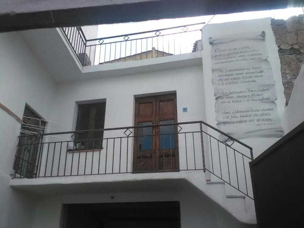 Balcone o terrazza di B & b barbaricino