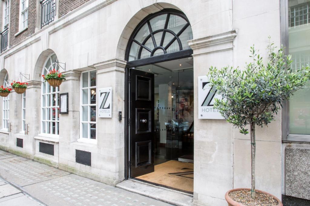 The facade or entrance of The Z Hotel Victoria