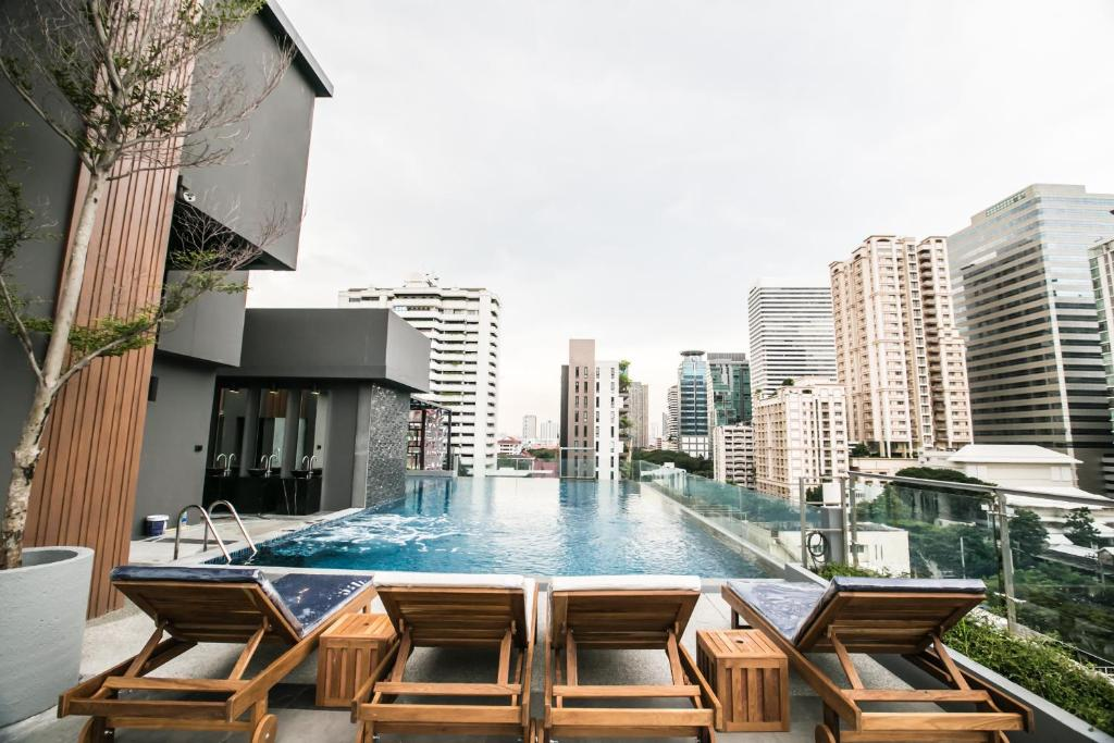 The swimming pool at or close to Arte Hotel