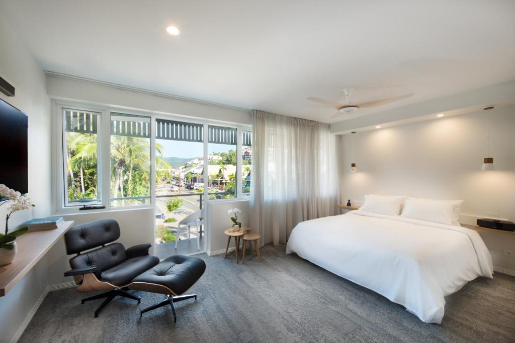 Soba v nastanitvi Heart Hotel and Gallery Whitsundays