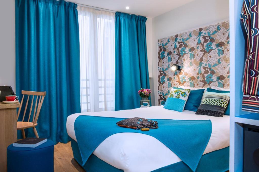 A room at Hôtel Villa Bohème