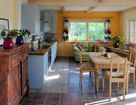 Küche/Küchenzeile in der Unterkunft Landgut Jungbrunnen