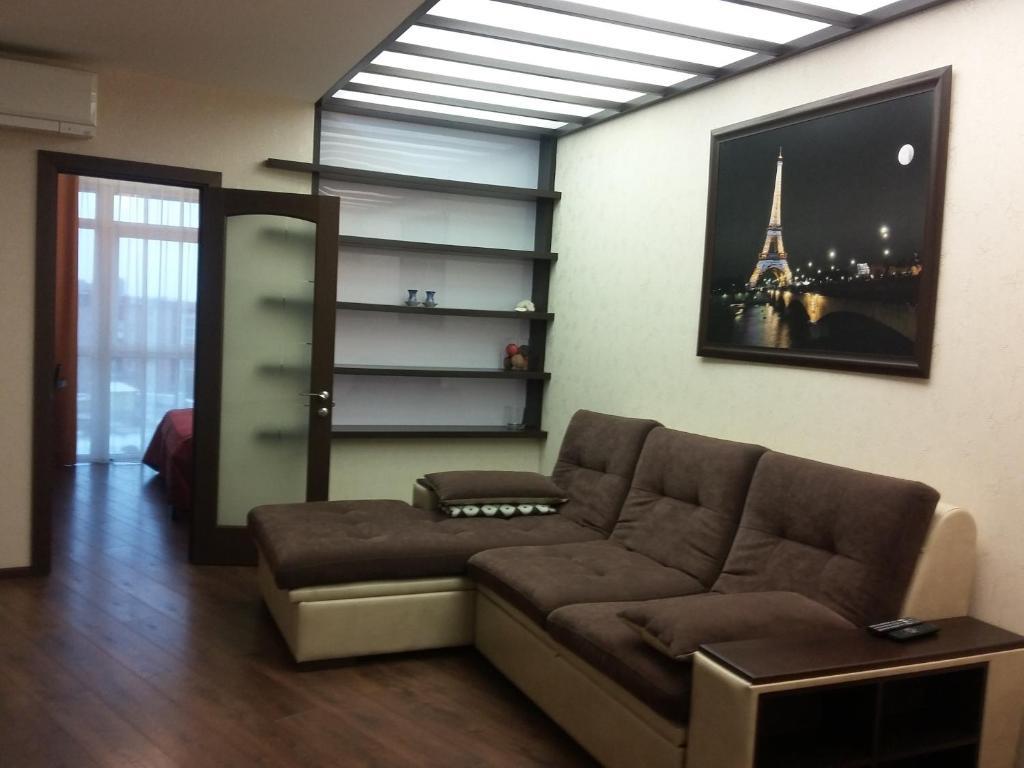 Гостиная зона в Apartment Park Gorkogo