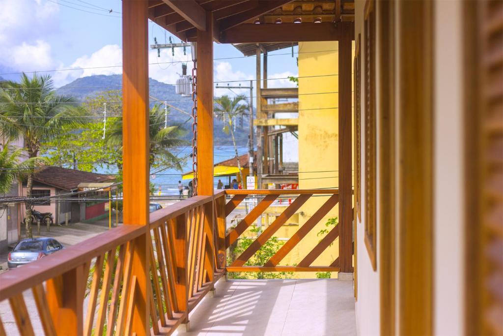 Uma varanda ou terraço em Balangan Flats