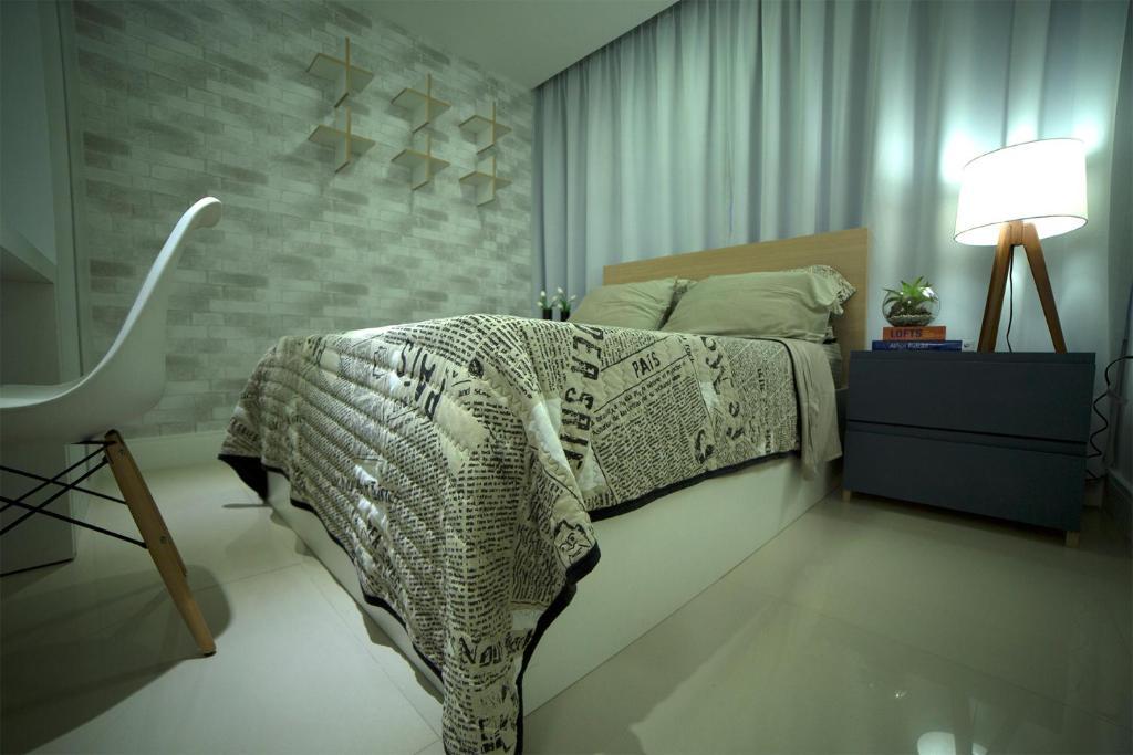 Um quarto em Flat Farol da Barra 2