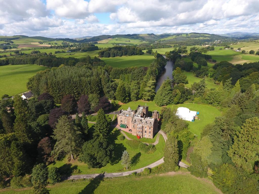 A bird's-eye view of Friars Carse Country House Hotel