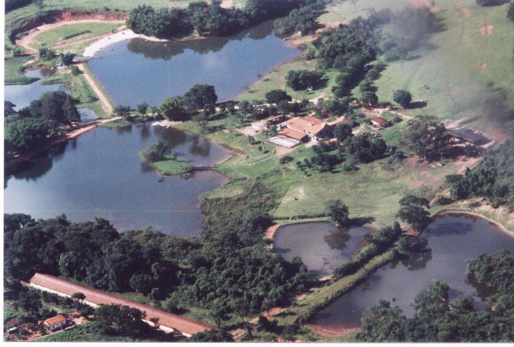 Uma vista aérea de Pousada Fazenda Buracão