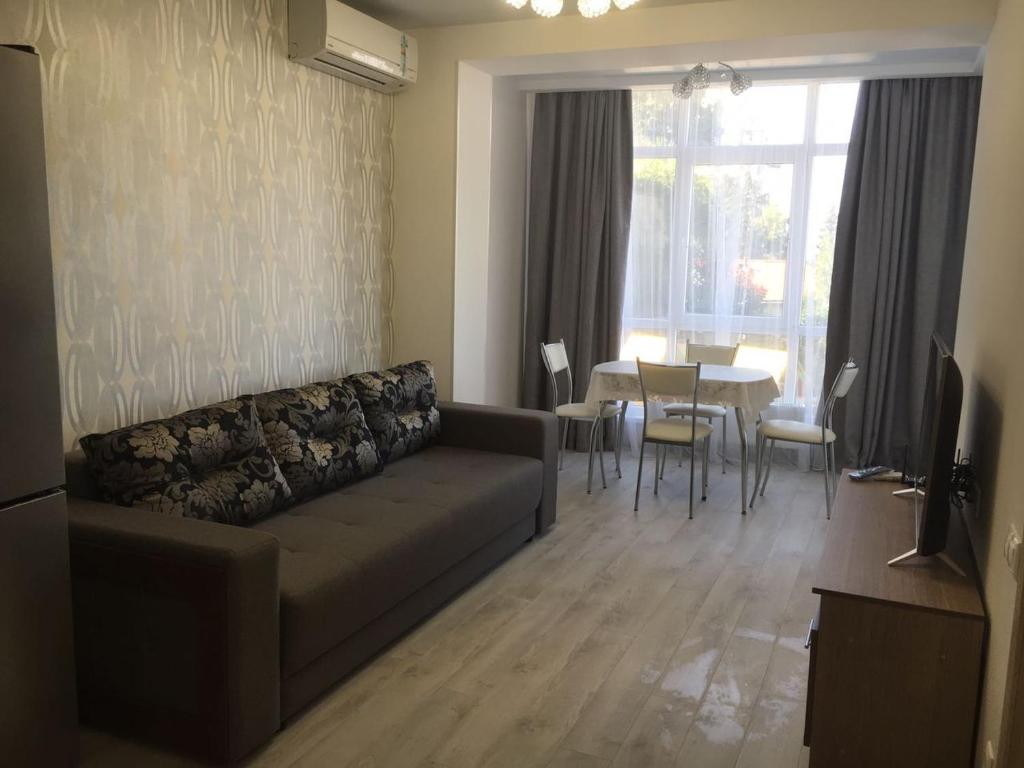 Гостиная зона в Apartment Gorkogo 18