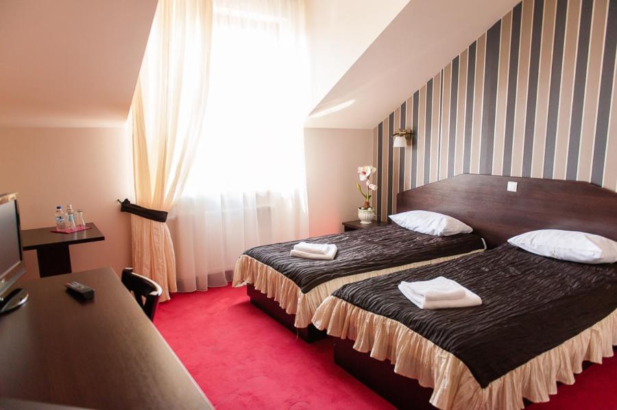 A room at Hotel Podzamcze