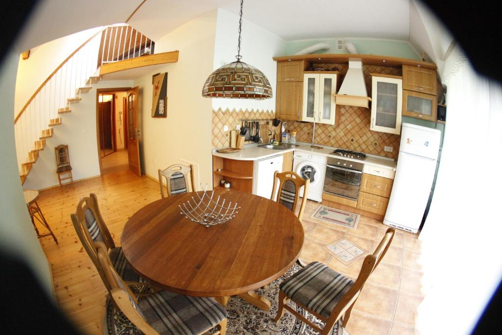Лаундж или бар в Apartment on Lenina 7a